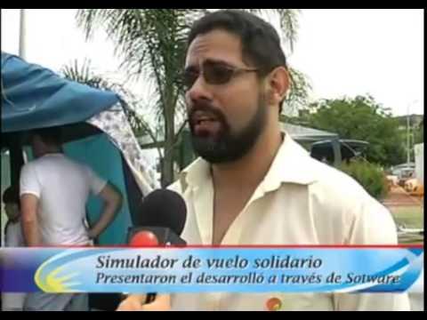 Avión Multimedial en la jornada solidaria \