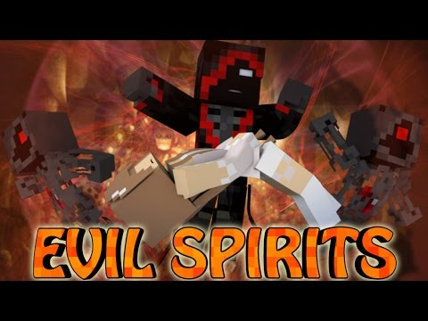 Minecraft | EXPLOSIVE EVIL SPIRITS ATTACK! (Infection, Virus, Infestation)