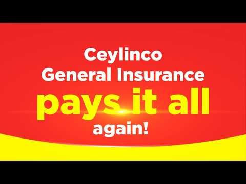 Ceylinco Flood Campaign 2017 -  Ceylinco General Insurance Pays It All Again!