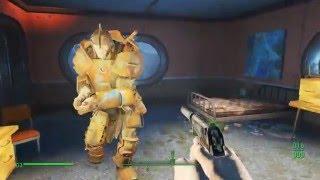 Fallout 4 093 - Багнутый Ночной Бостон