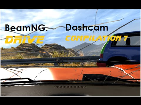 BeamNG. Drive - Dashcam Crashes Compilation 7 [Real Voices]