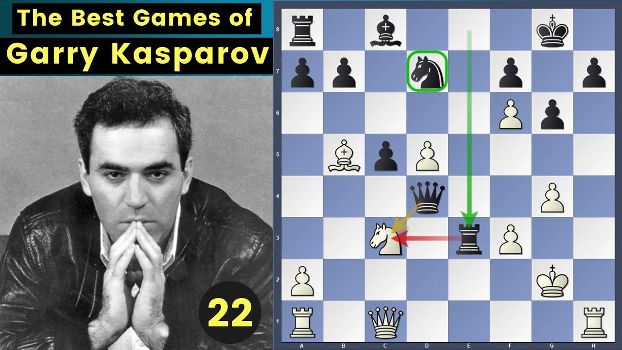 The Comeback! - Vaisser vs Kasparov | Garry Kasparov Best Games Ep 22
