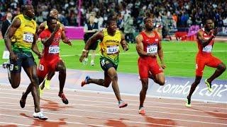 TOP 10 - Fastest 100m Races