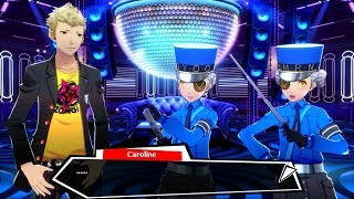 Persona 5: Dancing In Starlight All Justine & Caroline Social Ranks