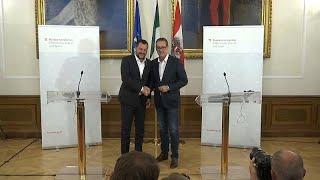 Salvini a Vienna: scintille col Lussemburgo