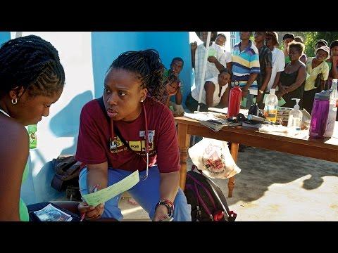 Boston College Nurses in Haiti