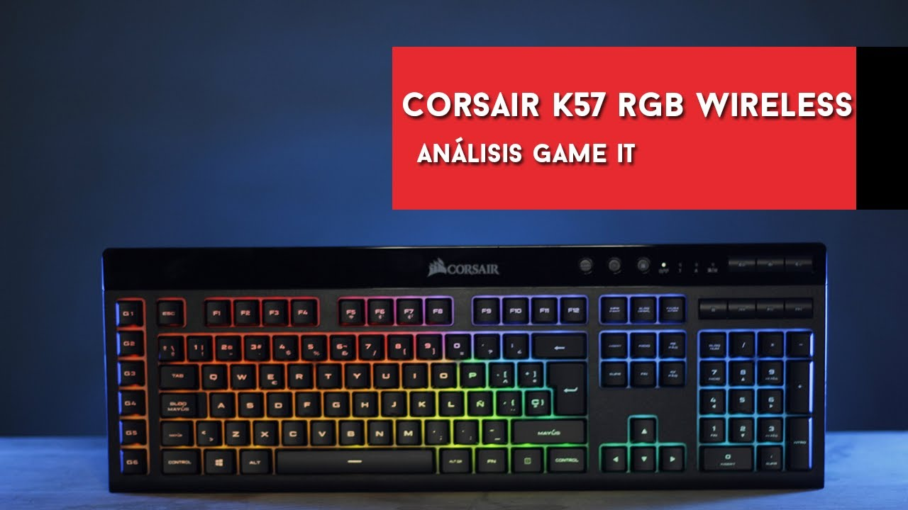 Corsair K57 Rgb Wireless Review Y Unboxing Youtube