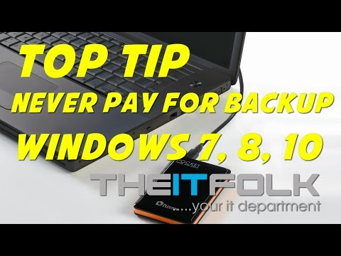 Free Windows Backup : Why you should NEVER pay!