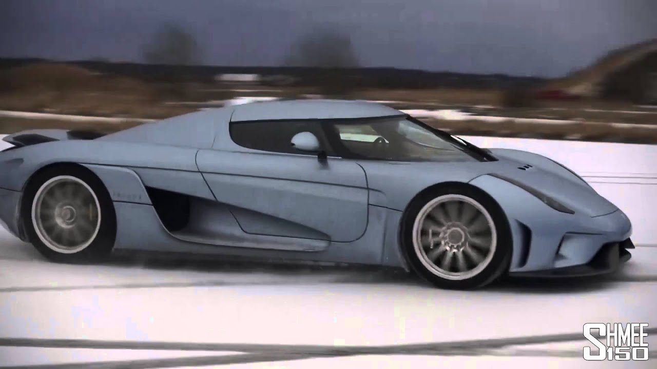 Cable Car Black And White Wallpaper 1800hp Koenigsegg Regera Plays In The Snow Hd Youtube