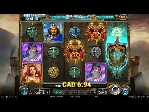 The Sword And The Grail Bonus Round Low Bet Mega Win - Online Casino Real Money