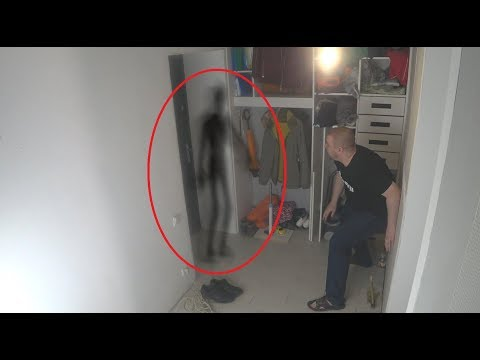 Real Ghost attack captured on camera. Scary ghost videos