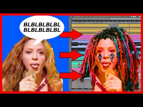 I Turned Shakira's Halftime Yodel Into A Banger Trap Beat