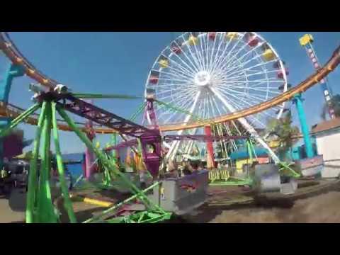 Family Roadtrippers Visit Santa Monica Pier