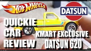 Quickie Car Review - Kmart K-day Exclusive Datsun 620 Pick Up Truck - 2015 Hot Wheels