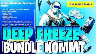 DEEP FREEZE Fortnite Paket Bundle Frostbite Skin release Datum 1000 V Bucks