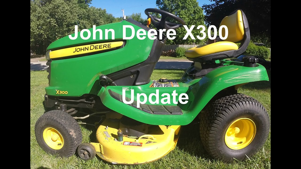 john deere x300 update youtube. Black Bedroom Furniture Sets. Home Design Ideas