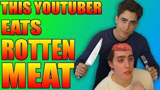 This Youtuber Eats Rotten Meat
