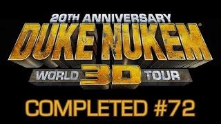 Completed #72 - Duke Nukem 3D: 20th Anniversary Edition World Tour - EASY 1000 GAMERSCORE