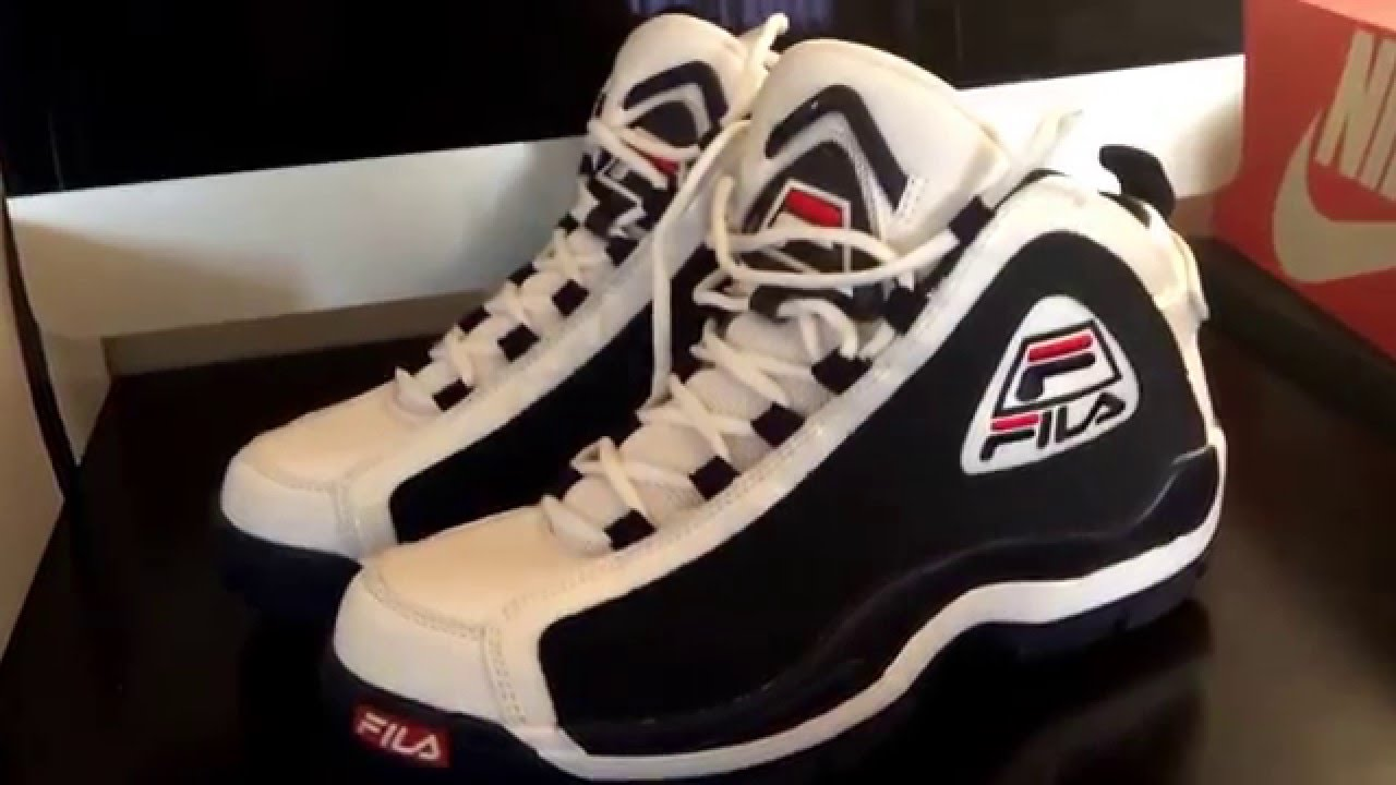 check out 3c188 24260 SNKRLOG 58  FILA 96 BASKETBALL SHOE (FILA GRANT HILL 2 RETRO) GRANT HILL  1996 ALL STAR GAME PE - YouTube