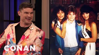 "Flula Borg Attended A ""Penthouse"" Party As A Child - CONAN on TBS"