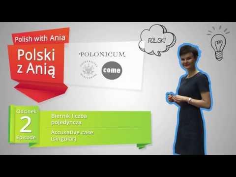 Polish with Ania. 2. Accusative case (singular) / Polski z Anią. 2. Biernik (liczba pojedyncza).