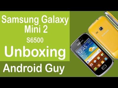 Samsung Galaxy mini 2 S6500 Unboxing