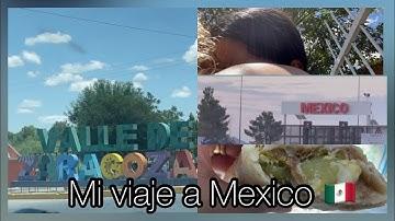 Mi viaje a mexico