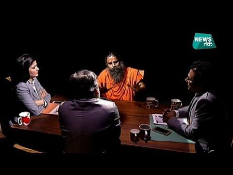 टीवी के लाइव शो में अचानक क्यों आपा खो बैठे बाबा रामदेव?| News Tak | Big Story