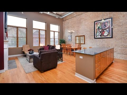 A very special duplex loft on a quiet Lakeview street