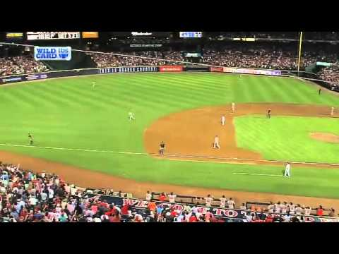 2012/10/05 Umps Rule Infield Fly On Popup