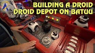 بناء الروبوت داخل الروبوت مستودع في حرب النجوم: المجرة الحافة
