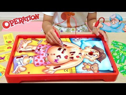 お医者さん ビリビリ 手術ゲーム 海外おもちゃ / Classic Operation Game Challenge!! Family Games