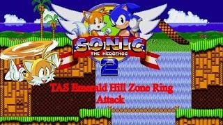 Sonic 2 Tails Flight TAS Ring Attack Test