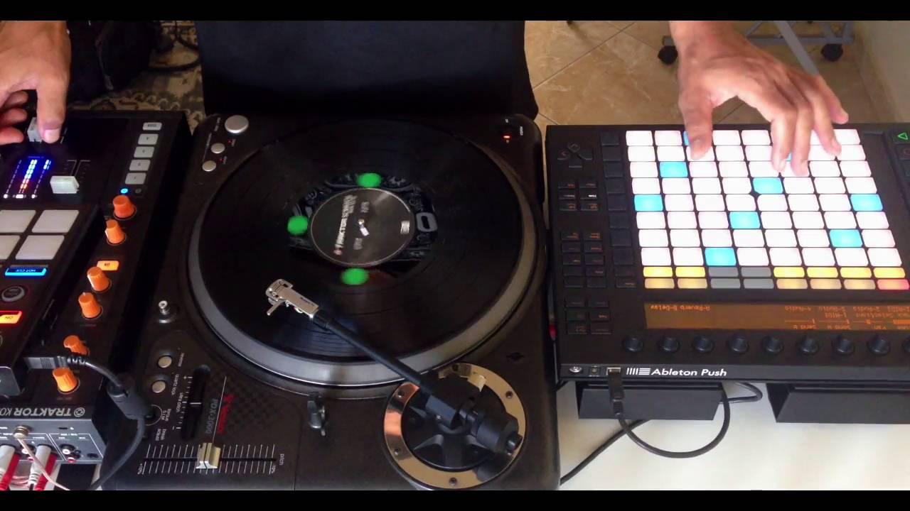 Vestax Pdx 3000 Push Controlled By Fernando Midi Youtube