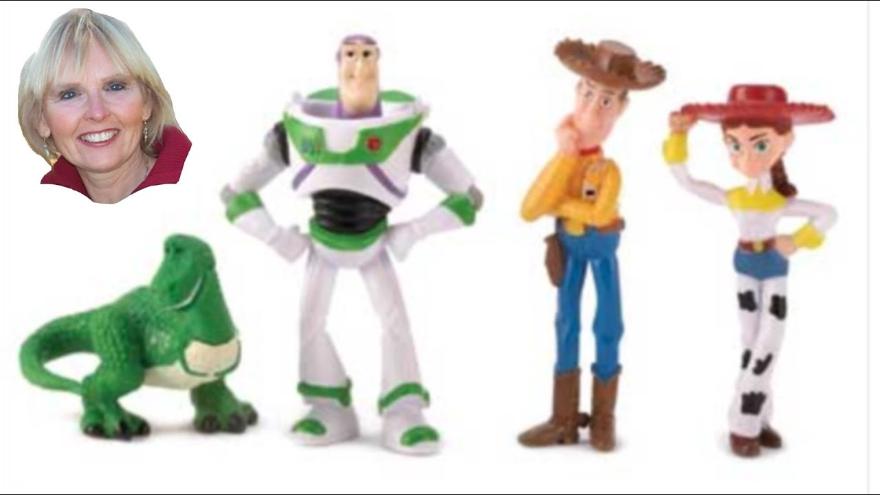 Toy Story Figurines : Toy story figurine playset youtube