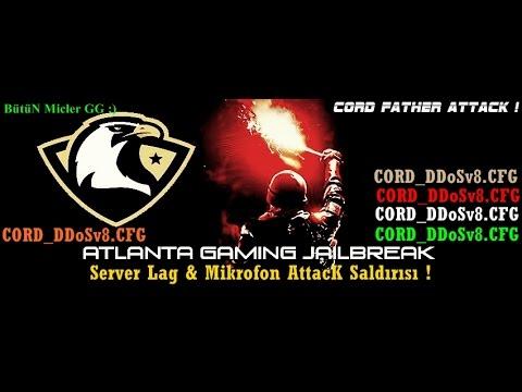 Cs 1.6 |- Cord_DDosv8 -Server Lag + Mikrofon(Mic) Ping Saldırısı ! [Atlanta-Gaming]