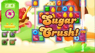 Candy Crush Jelly Saga Level 1411 (3 stars, No boosters)