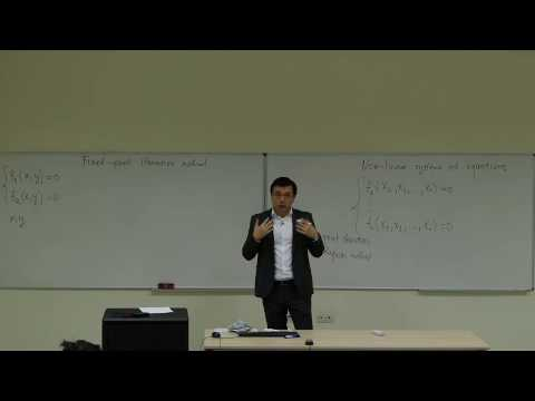 Computational Physics Lecture 9, Systems of Nonlinear Equations