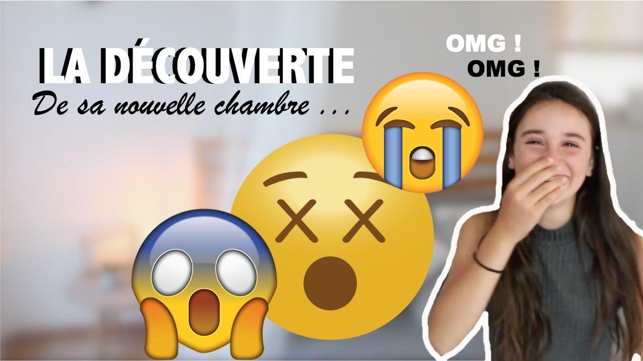 ELLE DÉCOUVRE SA (VRAIE) CHAMBRE !! - LA DEZDEZ FAMILY