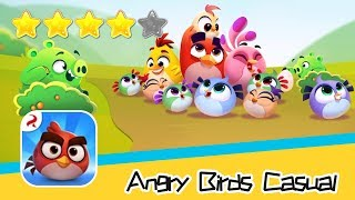 Angry Birds Casual Level 64 Walkthrough Sling birds to solve puzzles! Recommend index four stars