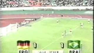 Olympic 88 Germany FR v Brasil 27th SEP 1988