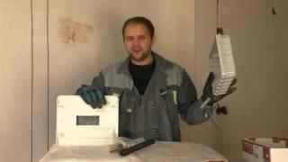 видео Установка электрического распределительного щитка