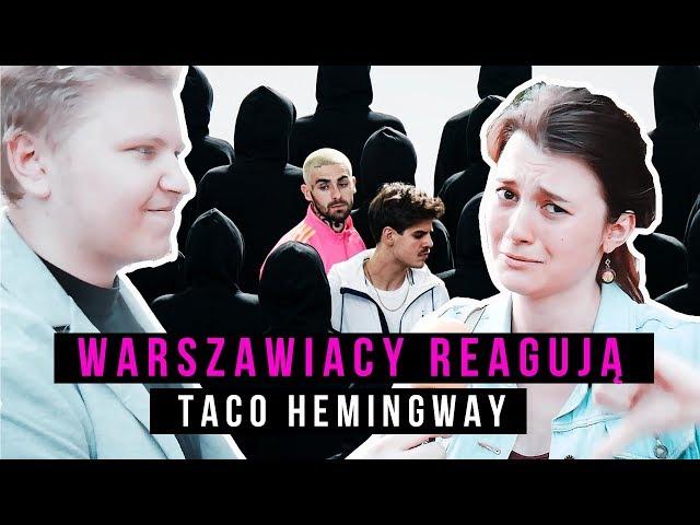 REAKCJA WARSZAWIAKÓW NA TACO HEMINGWAY i TACONAFIDE   Muzyka Gracza odc.6