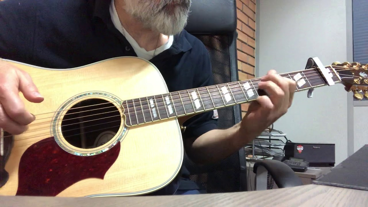 Mad word - Curt Smith (Tears for Fears) (acoustic cover)