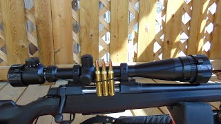 TASCO Riflescope Maqsad 6-24x42 Yangi, ochiq box Varmint. Riflescope. Unboxing.