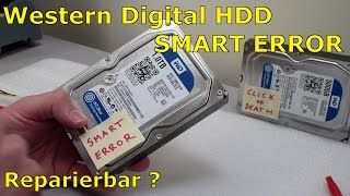 WD HDD Festplatte - Smart Error - [English subtitles]