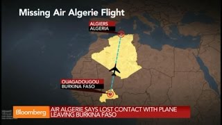 Missing: Air Algeria Plane With 116 People Vanishes