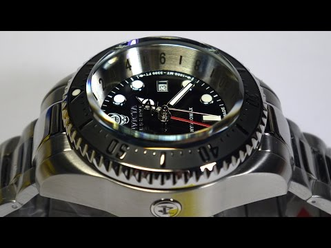 Invicta 16966 Hydromax 1000 meters Swiss Made Watch