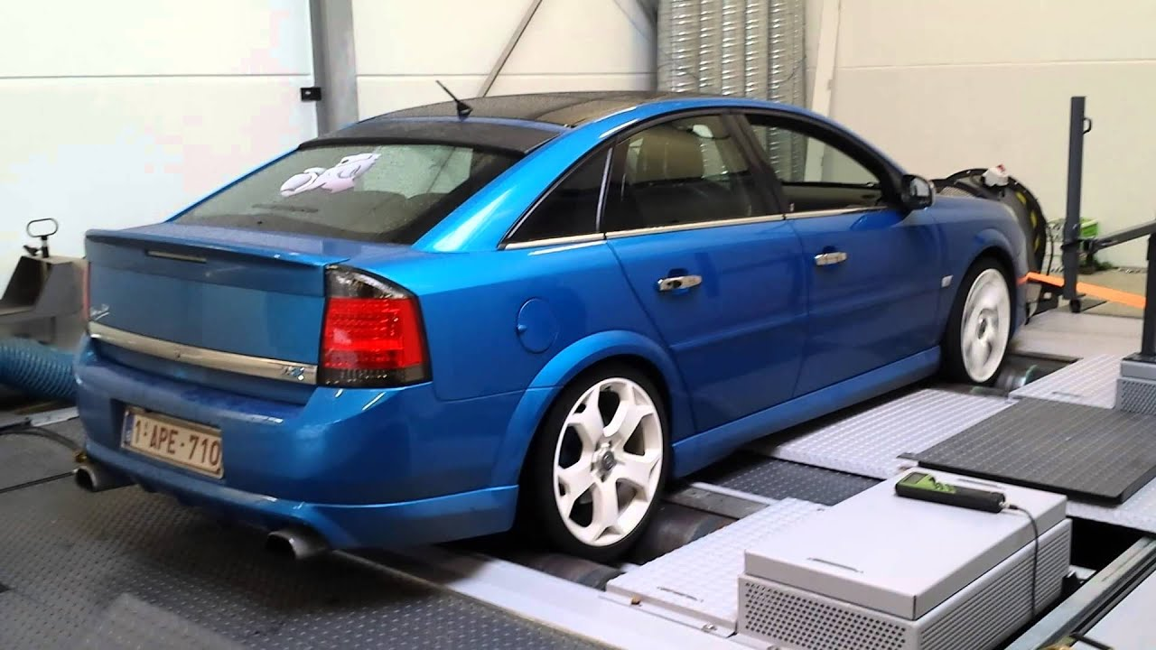 vectra c opc dyno youtube