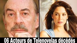 06 Acteurs de telenovelas mort !